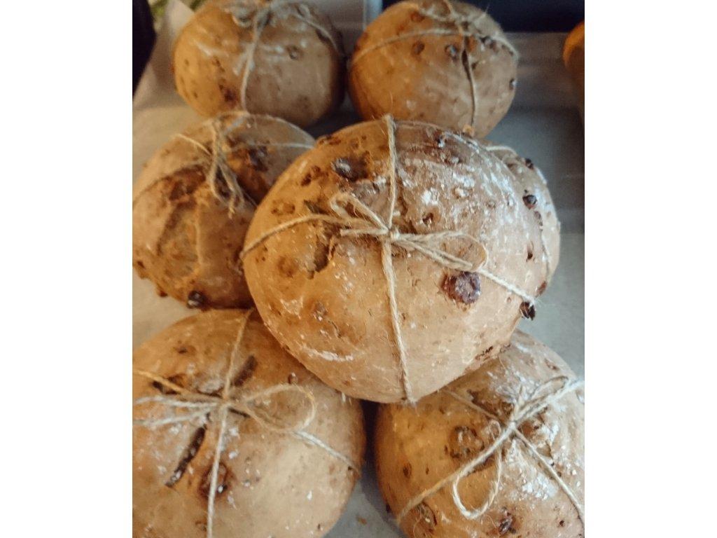 Ořechový chlebík