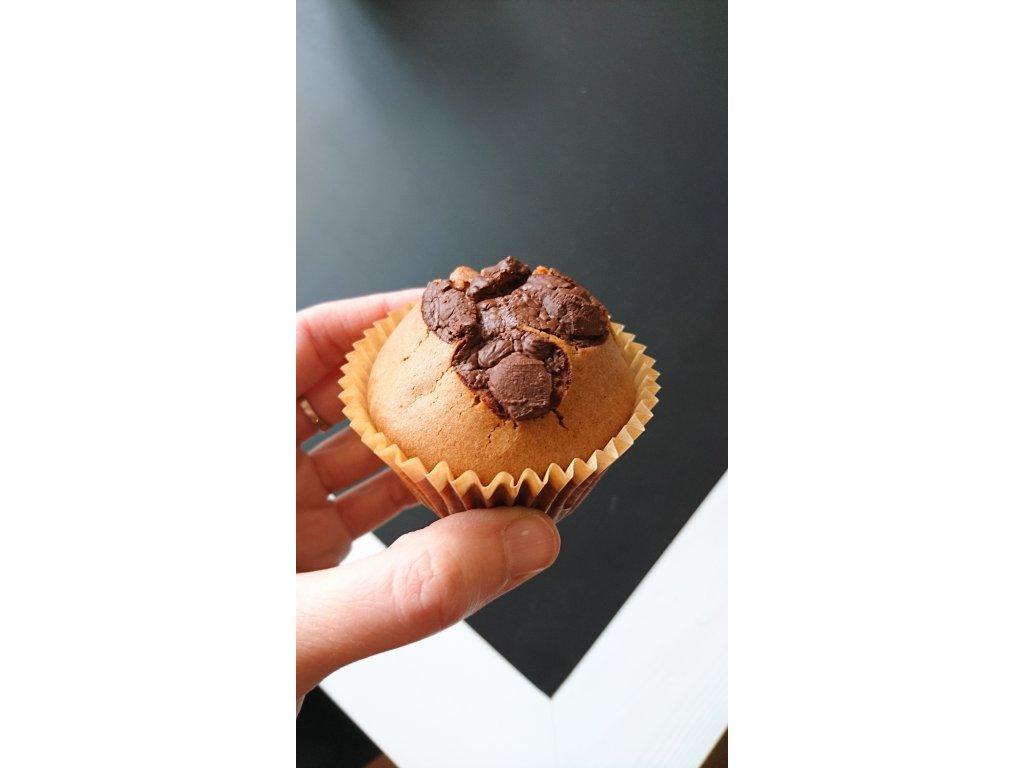 Muffinek velký s čokoládou