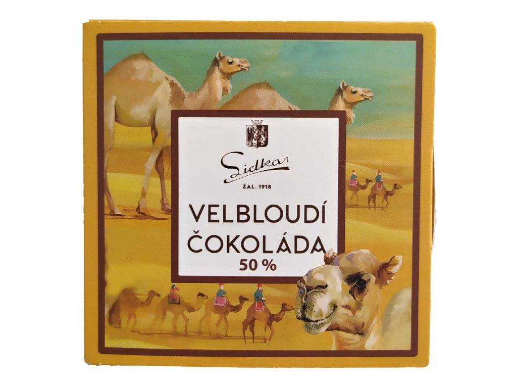 Lidka velbloudí čokolada