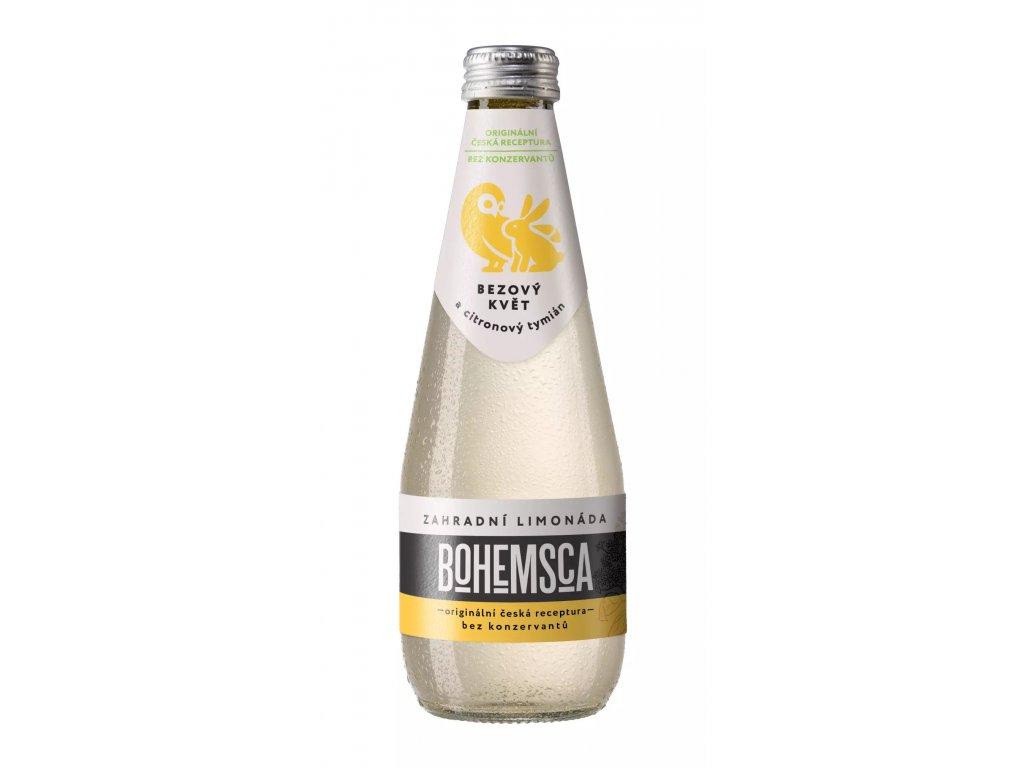 BIO limonáda - bezový květ a citronový tymián