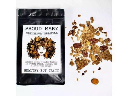 granola ořechy