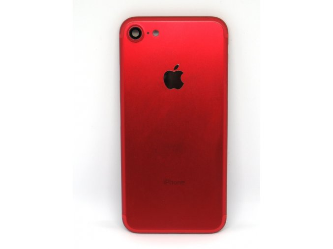 698 apple iphone 7 zadny kryt c erveny red tlac idla