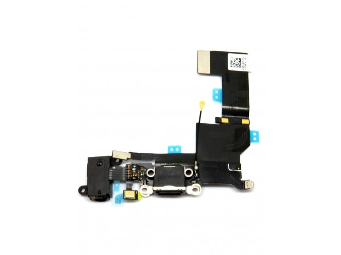 1226 apple iphone se nabijaci konektor jack konektor mikrofon flex kabel farba cierna