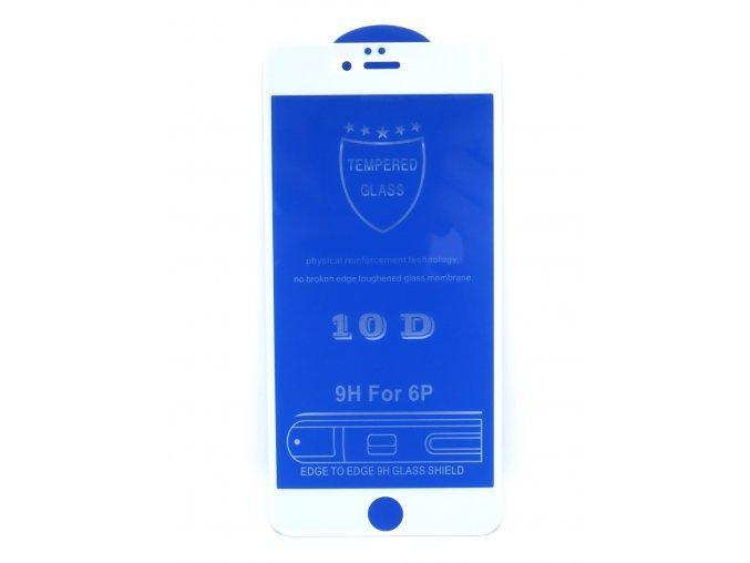 755 1 iphone 6 plus ochranne temperovane sklo 10d biele