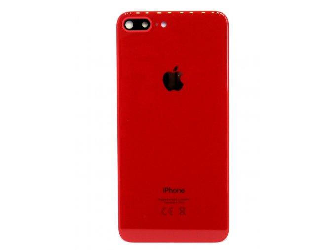 1184 iphone 8 plus zadne sklo skli c ko kamery cervena farba