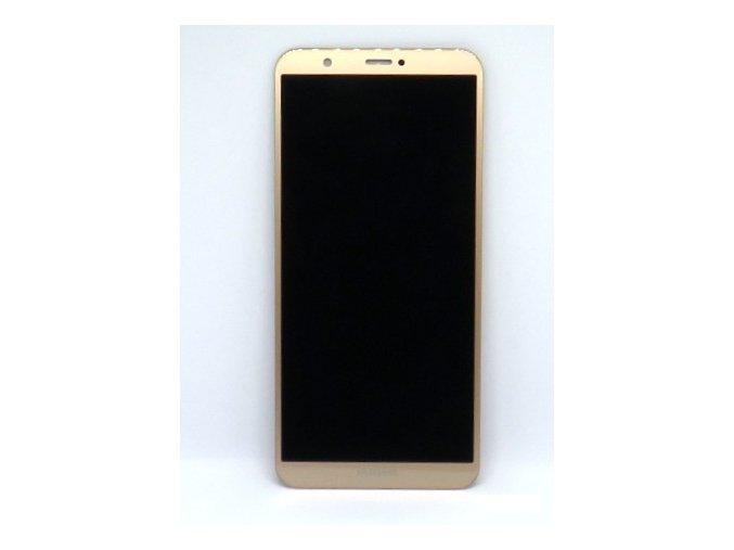 1619 2 original lcd displej huawei p smart dotykova plocha zlata