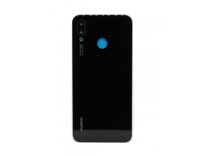Huawei P20 Lite - Kryt zadný + kryt fotoapárátu, farba čierna