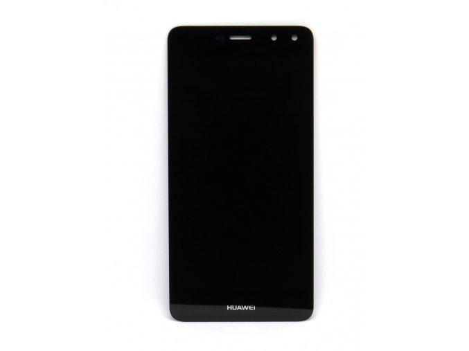 Originál LCD Displej Huawei Y6 2017 + dotyková plocha čierna  - Originál kvalita, farba čierna
