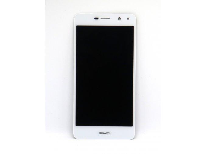 Originál LCD Displej Huawei Y6 2017 + dotyková plocha biela  -originál kvalita, farba biela