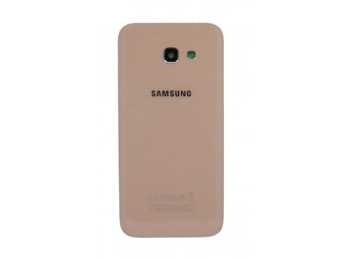Samsung A5 2017 (a520) - Kryt zadný + kryt fotoapárátu, farba ružová