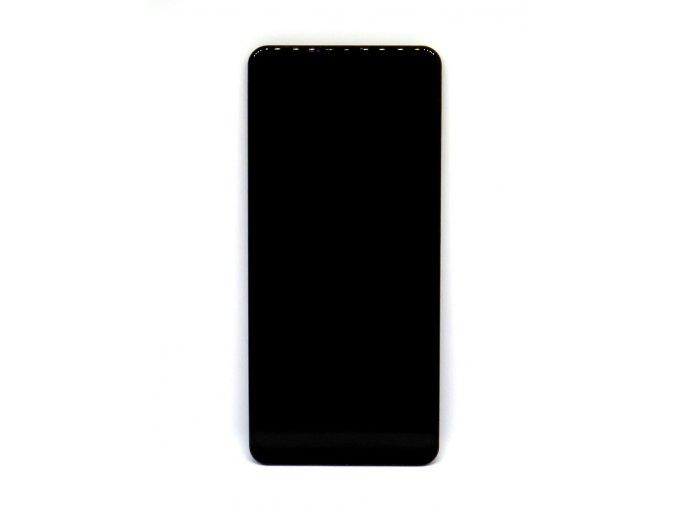 Originál LCD Displej Samsung galaxy A21s (A217F) + dotyková plocha čierna + Rám  -Kvalita originál, farba čierna + rám