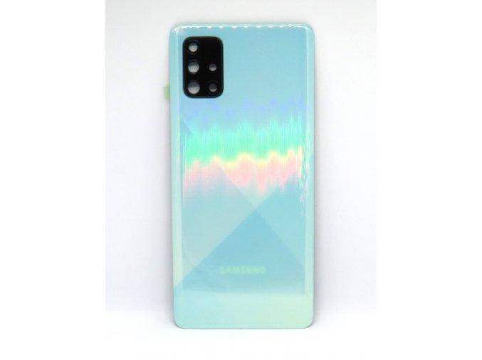 Samsung A71 (SM-A715F) - Kryt zadný + kryt fotoaparátu, farba modrá