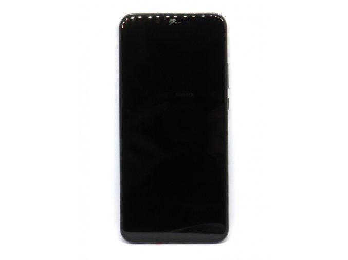Originál LCD Displej Huawei Nova 3 + dotyková plocha čierna + Rám  - Originál kvalita + Rám