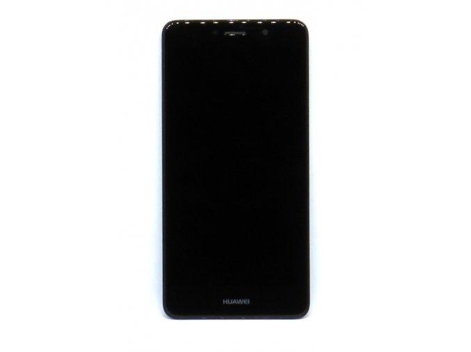 Originál LCD Displej Huawei Y7 2017/Y7 Prime 2017 + dotyková plocha čierna + Rám  -originál kvalita, farba čierna + Rám