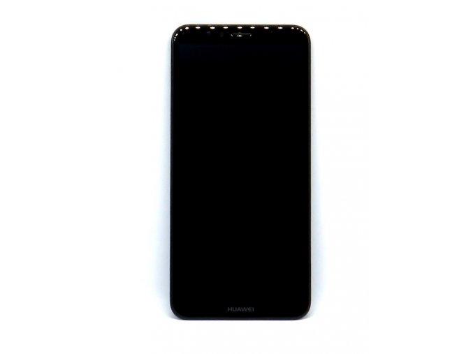 Originál LCD Displej Huawei Y6 2018 / Y6 Prime 2018 + dotyková plocha čierna + Rám  -originál kvalita, farba čierna + rám