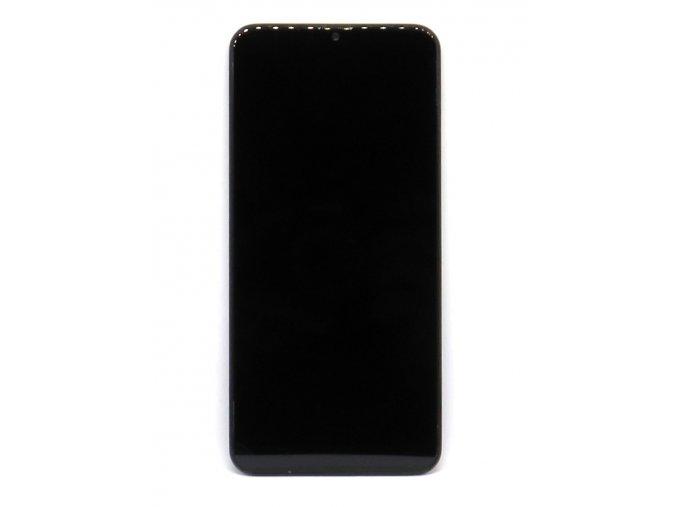 Náhrada LCD Displej Samsung galaxy A20 (SM-A205F) + dotyková plocha čierna + Rám  - LCD náhrada + Rám