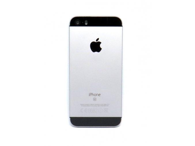 Apple iPhone SE zadný kryt sprave grey + tlačidlá + SIM tray