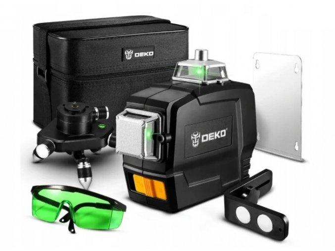 Laserový samonivelizačný 3D 12 líniový prístroj DEKO
