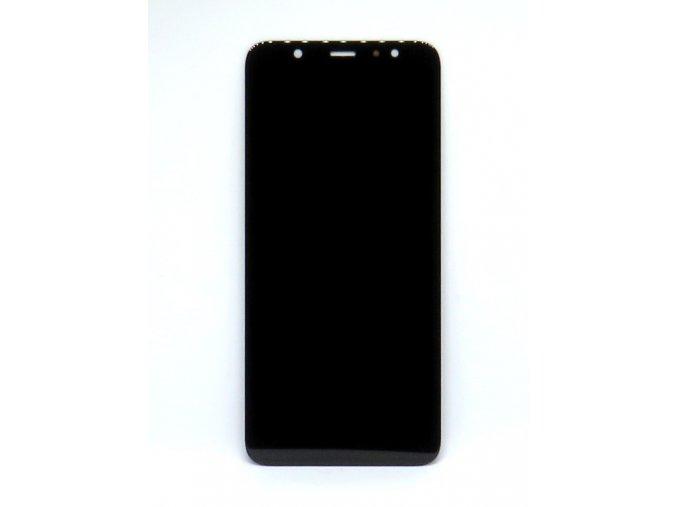 Náhrada Incell LCD Displej Samsung galaxy A6 Plus (a605F) + dotyková plocha čierna  -LCD náhrada, kvalita: incell