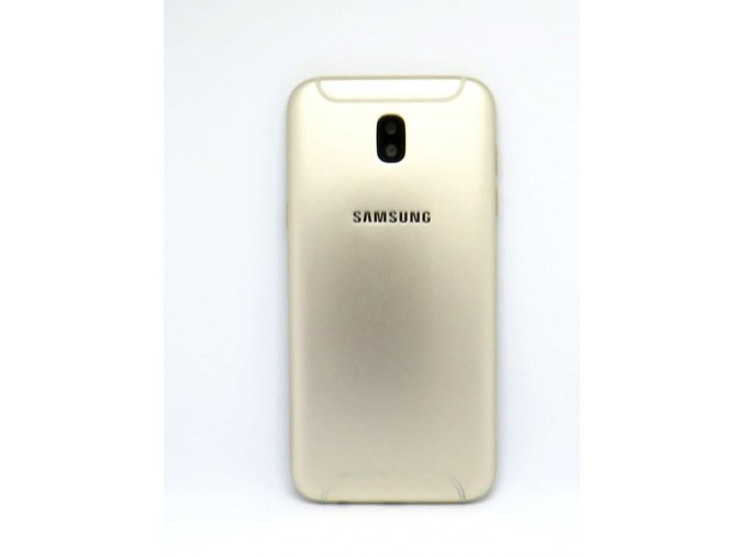 Samsung J5 2017 (j530) - Kryt zadný + kryt fotoaparátu + tlačidlá, farba zlatá  farba zlatá