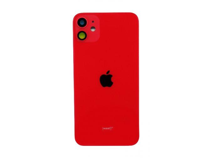 Iphone 11 zadné sklo - červená farba (Red)  farba červená