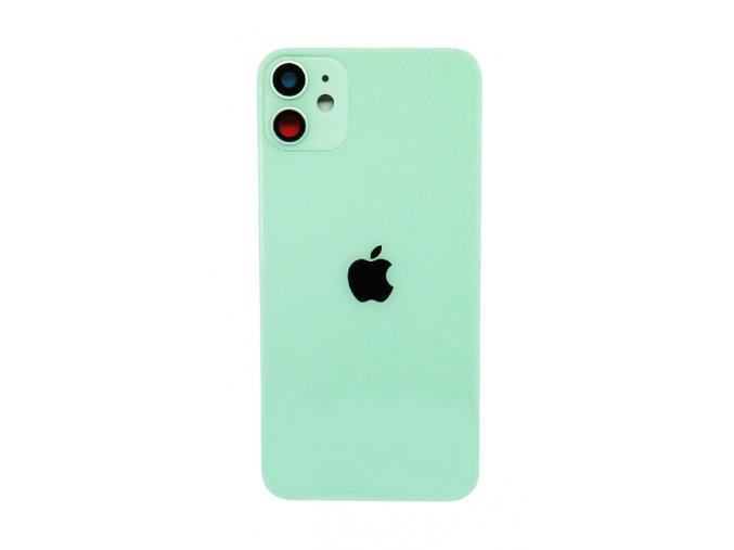 Iphone 11 zadné sklo - zelená farba (Green)  farba zelená