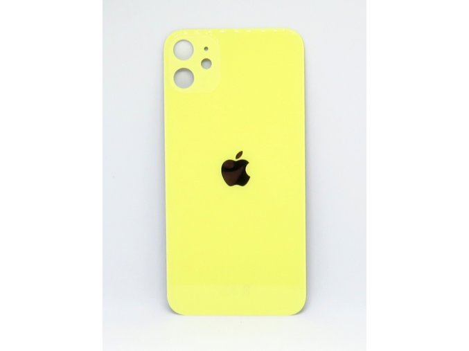 Iphone 11 zadné sklo - žltá farba (Yellow)  farba žltá