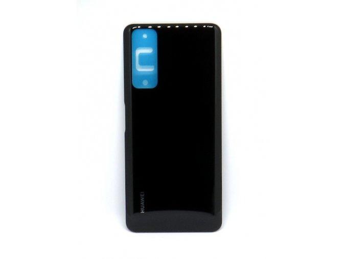 Huawei P-Smart 2021- Kryt zadný + kryt fotoaparátu, farba čierna
