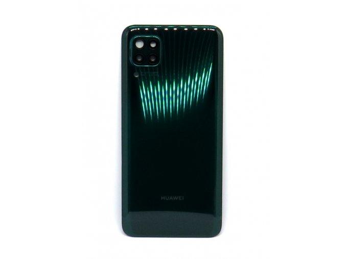 Huawei P40 Lite - Kryt zadný + kryt fotoaparátu, farba zelená