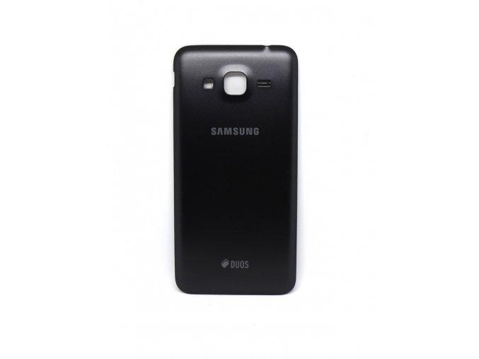 Samsung galaxy J3 2016 (j320) - Kryt zadný + kryt fotoaparátu, farba čierna