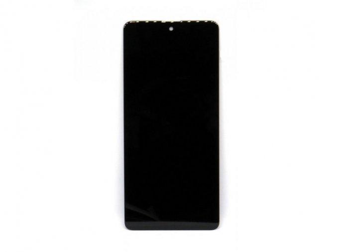 Náhrada Incell LCD Displej Samsung galaxy A71 (SM-A715F) + dotyková plocha čierna + Rám