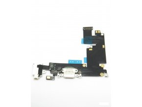 1529 apple iphone 6 plus nabijaci konektor jack konektor mikrofon flex kabel biela