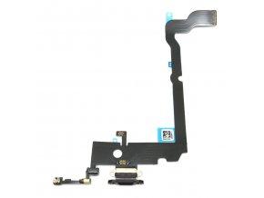 1313 3 apple iphone xs max nabijaci konektor flex kabel farba cierna