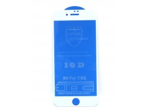 734 1 iphone 8 plus ochranne temperovane sklo 10d biele