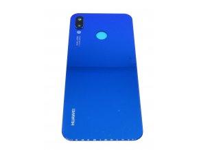 Huawei P20 Lite - Kryt zadný + kryt fotoapárátu, farba modrá
