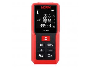 Laserový merač vzdialenosti NORM ME40