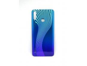 Huawei P30 Lite - Kryt zadný + kryt fotoaparátu, farba modrá