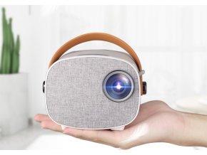 Multimedialny LED Projektor AAO YG230 s Wifi a svietivosťou 1800 lumenov