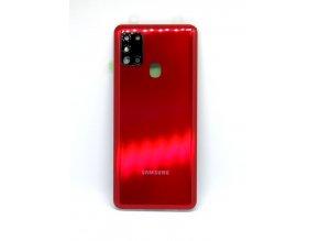 Samsung galaxy A21s (A217F) - Kryt zadný + kryt fotoapárátu, farba červená