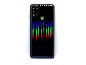 Samsung galaxy A21s (A217F) - Kryt zadný + kryt fotoapárátu, farba čierna