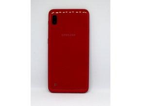 Samsung galaxy A10 (A105F) - Kryt zadný + kryt fotoaparátu, farba červená