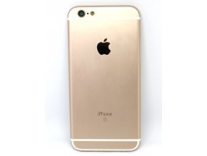 Apple iPhone 6s zadný kryt zlatý (gold) + tlačidlá + SIM tray  - Originál kvalita