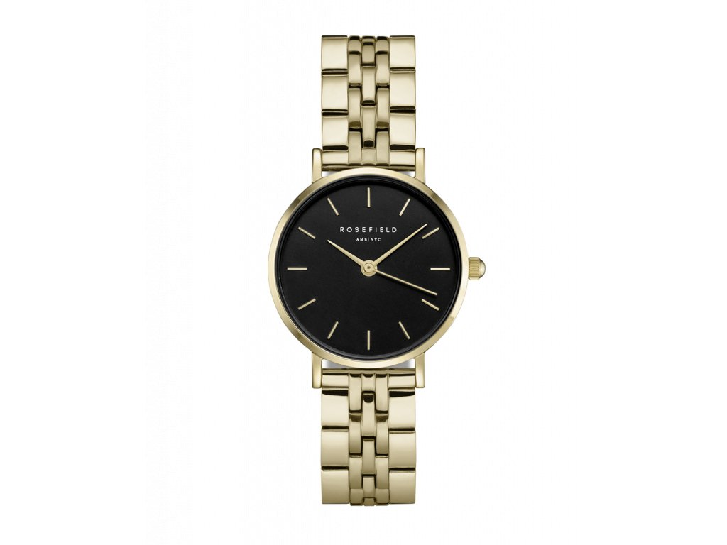 909 the small edit black steel gold