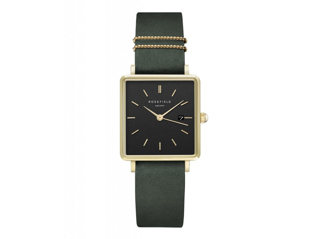 987 the boxy black sunray forest green gold