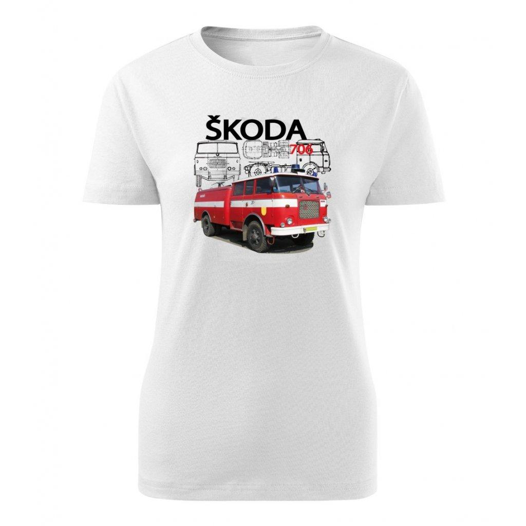 Dámské tričko Škoda 706