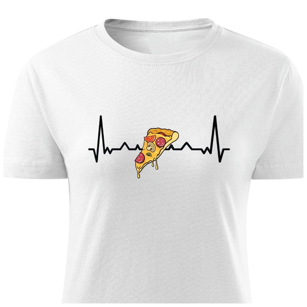 Dámské tričko Pizza Hearbeat