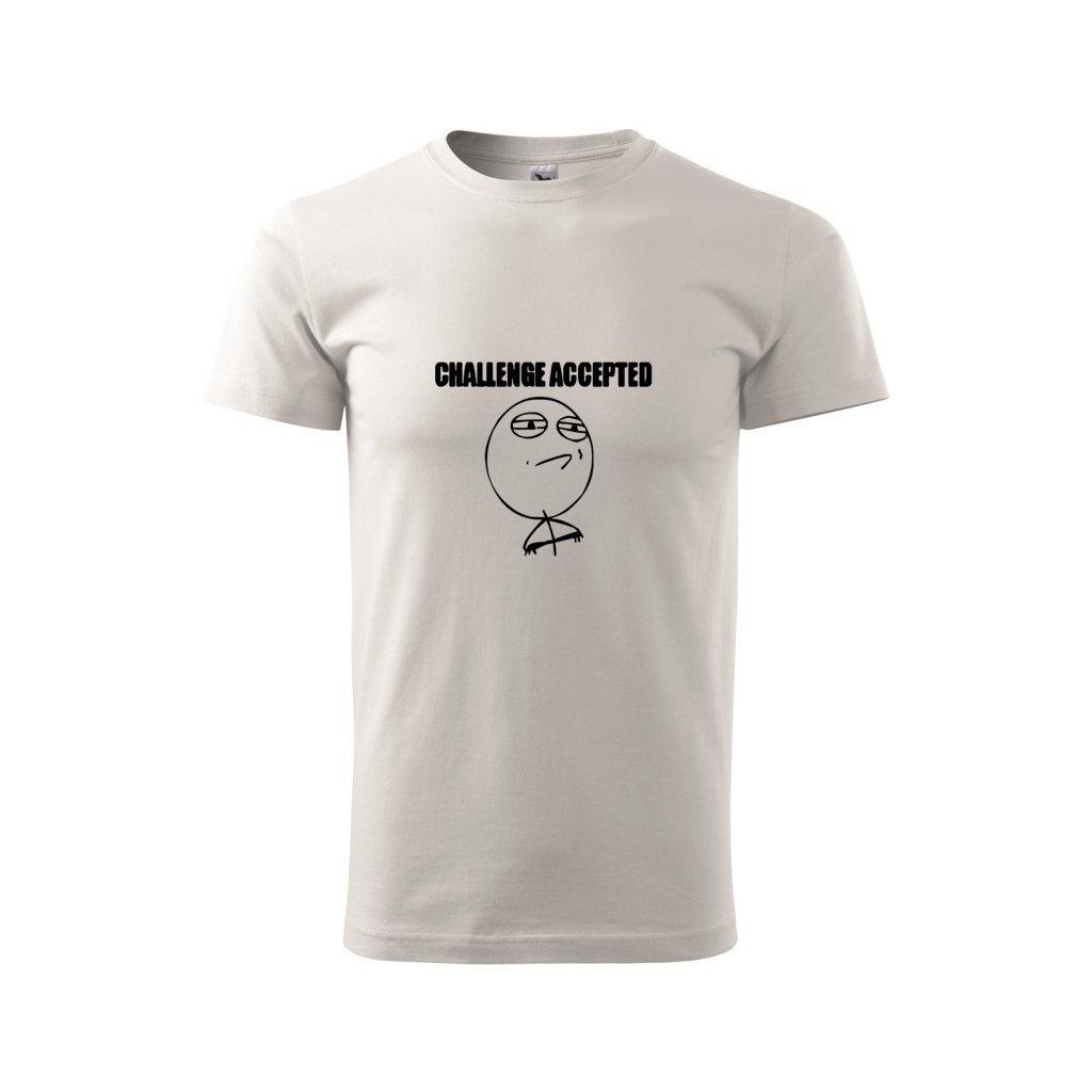 Pánské tričko Challenge accepted