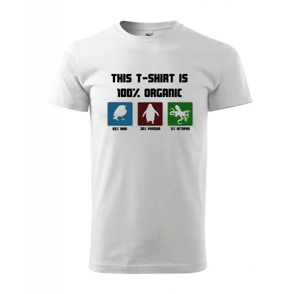 Pánské tričko 100% organic