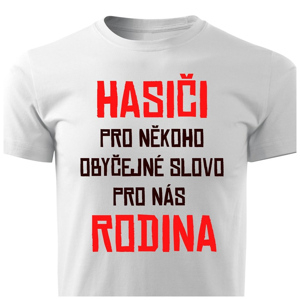 Pánské tričko Hasiči