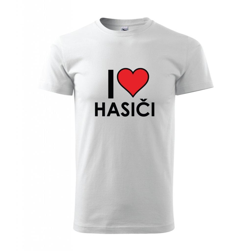 Pánské tričko I love hasiči